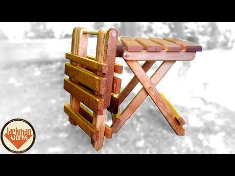 Collapsible Folding Adirondack Table
