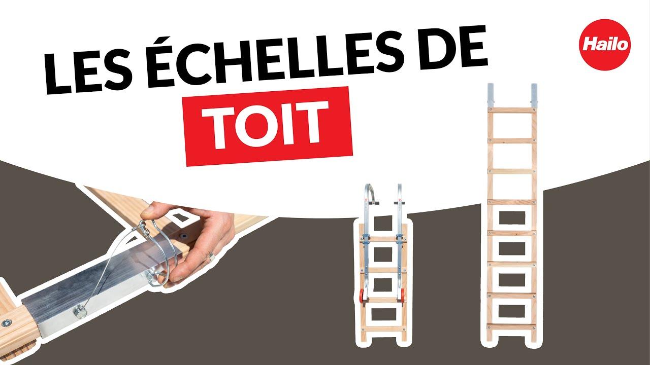 Decouvrez Les Echelles De Toit En Bois Par Hailo Youtube