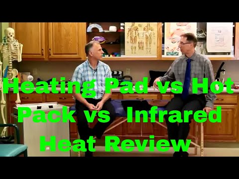 Heating Pad Vs. Moist Hot Pack Vs. Infrared Heat Review