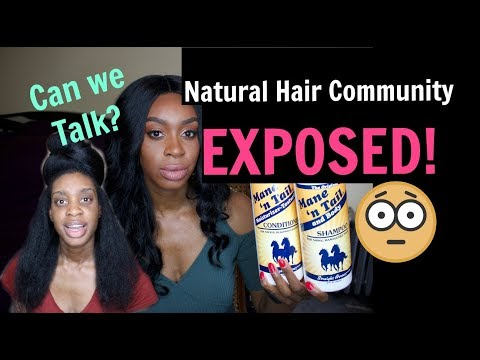 EXPOSED! I Tried Mane N Tail And This Is What Happened To My Hair| Coily Conversation