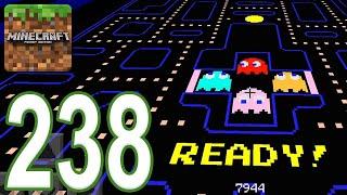 Minecraft: PE - Gameplay Walkthrough Part 238 - PAC-MAN: Mazes 9-10 (iOS, Android)