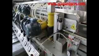 Glass Straight Line Double Edging Machine From Puyu Machinery