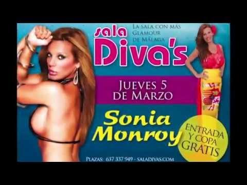Sala Divas y Sonia Monroy , Despedidas,Cenas,Cumpleaños,alquiler de limusinas, discobus, en Málaga