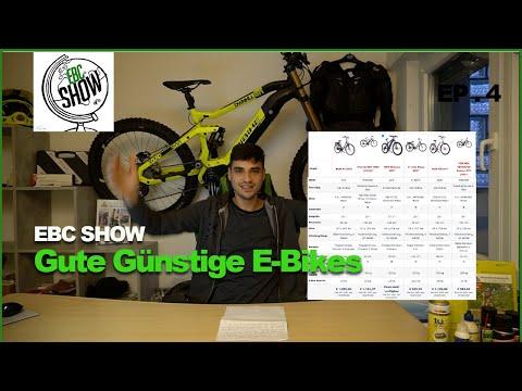 Gute Günstige E-Bikes für 1000 Euro? Worauf man achten sollte!!!Technische Infos+Vergleich |EBC Show