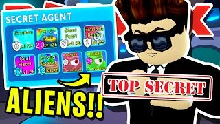 SECRET AGENT ARRIVES!! AGENT FROM AREA 51 TRADES ME 8 *SECRET* PETS IN ROBLOX BUBBLEGUM SIMULATOR!!