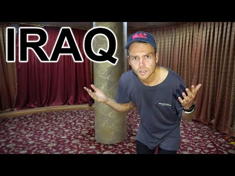 WEIRD HOTEL IN IRAQ - First Day In Iraq (not What I Expected)