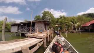 Songkhla: 2014 Koh Yor Return from the Bay Side GCuesthouse GoPro (unedited)