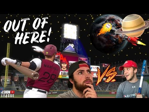 507FT HOME RUN TO OUTER SPACE!? MIGHTY GOAT VS FUZZY! MLB THE SHOW 18 YOUTUBER LEAGUE