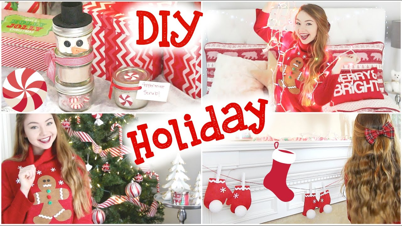 DIY Holiday Room Decor, Sweater, & Gifts!