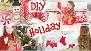 DIY Holiday Room Decorations, Sweater, & Gifts! Thumbnail