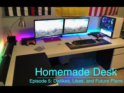 Making a Modern Desk - Ep.5 Dislikes, Likes, and Future Plans