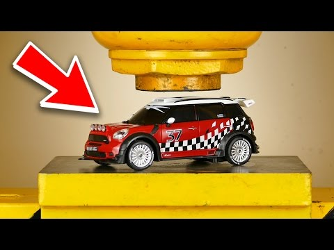 Thumbnail: LOOK WHAT HAPPENS WHEN YOU CRUSH RC CAR WITH HYDRAULIC PRESS - THE SMASHER SHOW