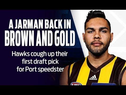 JARMAN IMPEY Traded to Hawthorn!!!