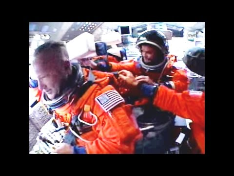 Full Cockpit Launch + Crew audio Last Space Shuttle ♦ STS-13