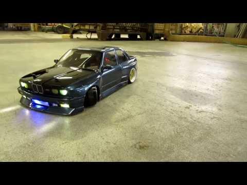 Rc Bmw E30 M3 Blue/black Bodypaint Picture And Drift