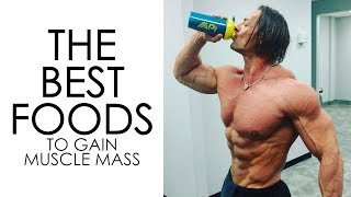 The Best Foods to Gain Muscle Mass