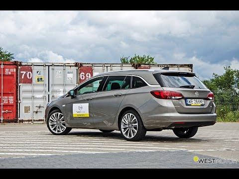 Nowy Opel Astra K Sports Tourer 1.6 CDTi AT 2016 test PL