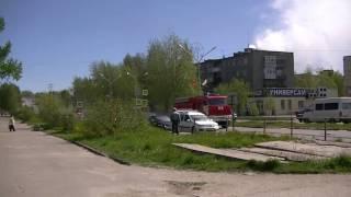 ФГКУ «4 отряд ФПС по Республике Карелия». Пожарный расчёт. Пожарные машины. Пожар.