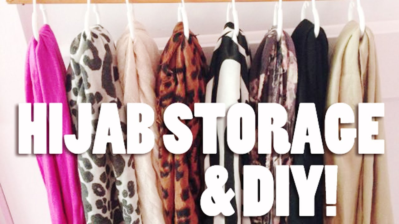 How I Store My Scarves U0026 DIY!   YouTube