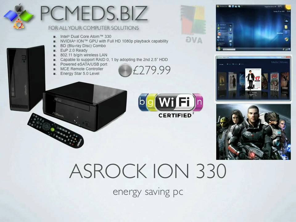 Asrock ION 330Pro NVIDIA All-In-1 Driver Download