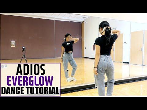 EVERGLOW (에버글로우) - Adios - Lisa Rhee Dance Tutorial