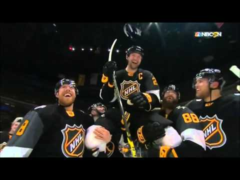 John Scott, A Tribute- The Best Moments From The 2016 NHL All Star Game