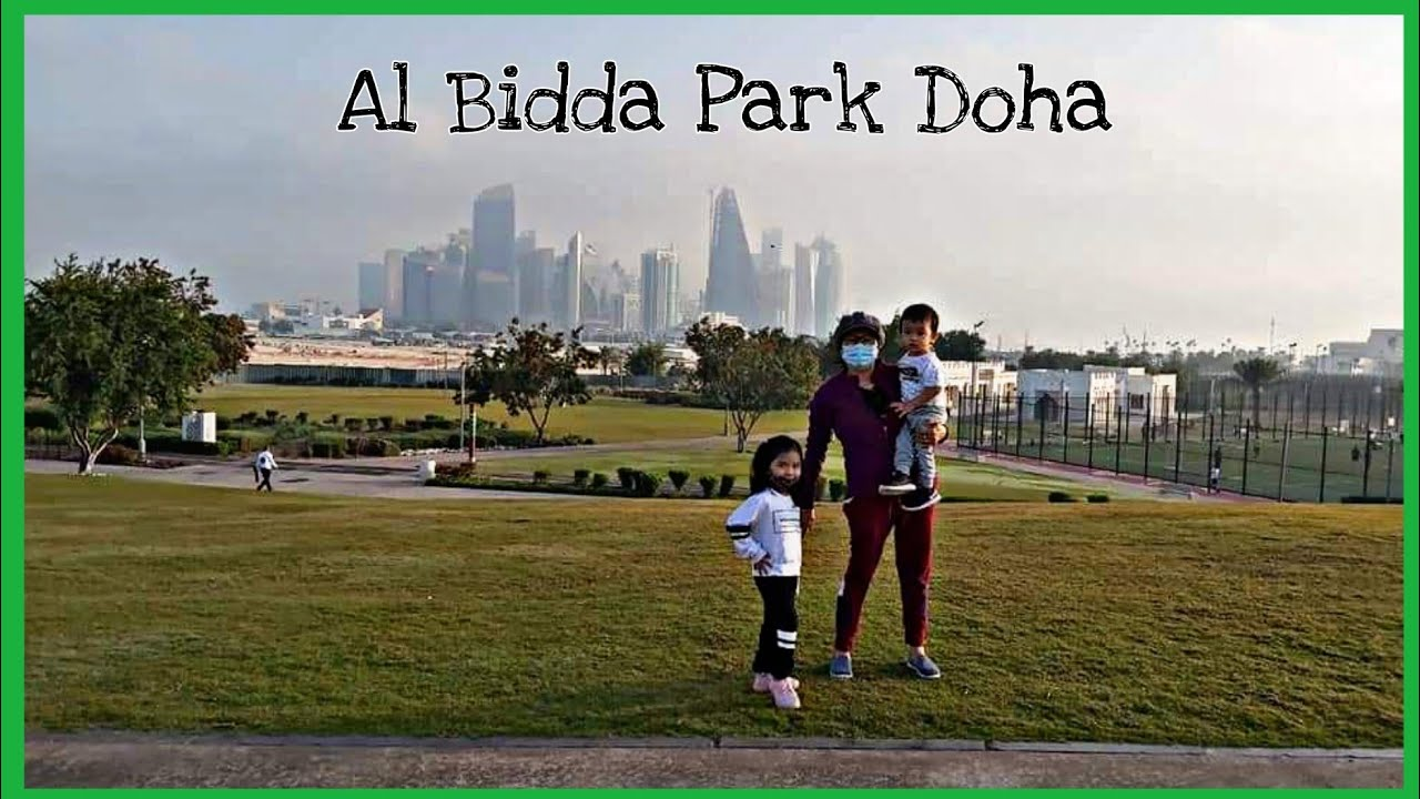 OUR FIRST VISIT IN DOHA'S FIRST PET-FRIENDLY PARK -AL BIDDA | Dane's Happy House | 76