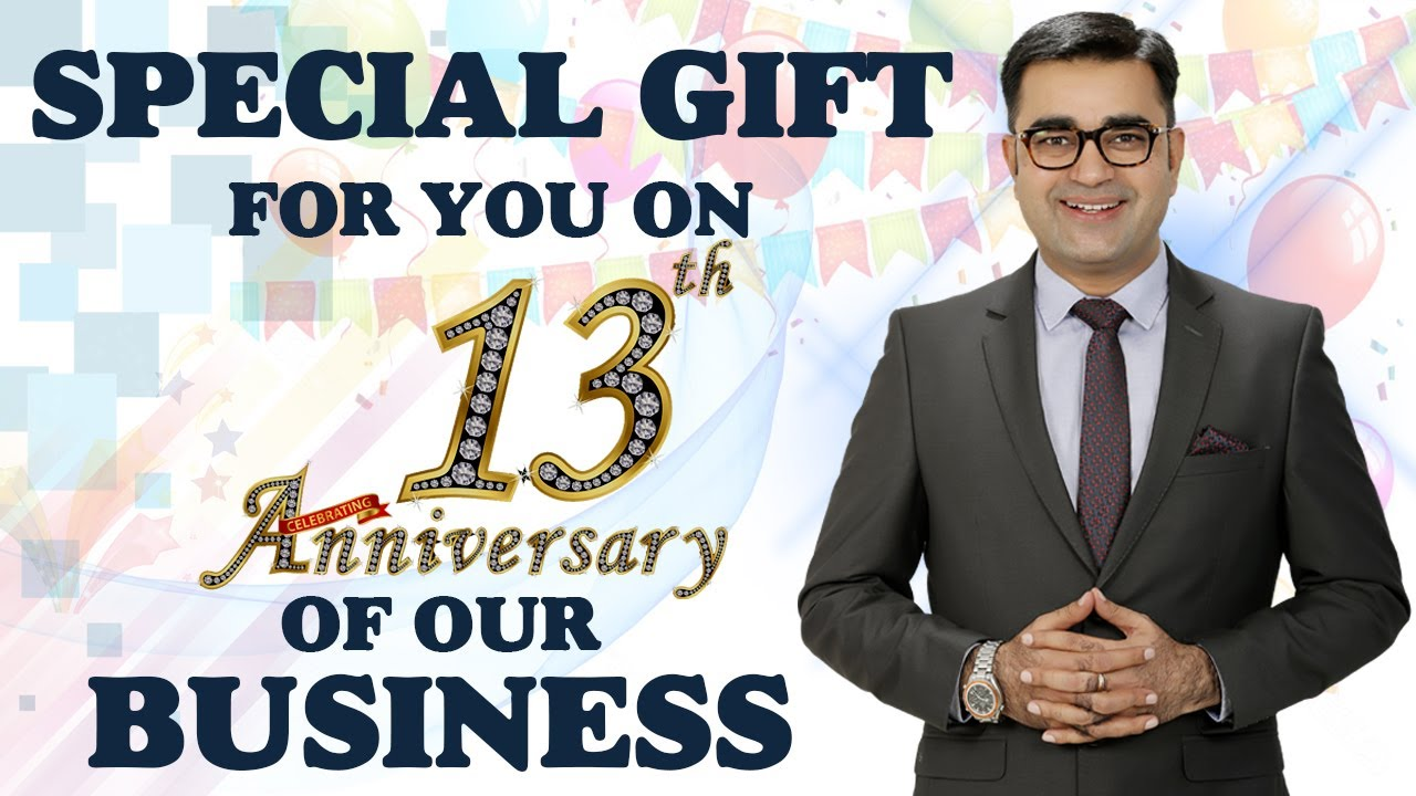 Special FREE gift for YOU on 13th Anniversary of our BUSINESS | DEEPAK BAJAJ | आपके लिए सुनेहरा मौका