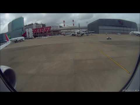Air Asia Flight FD 763 Take of Macao