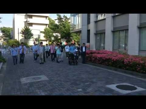Challenge for Tsukuba Challenge 2015 in Nagoya University
