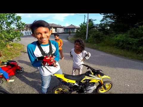 Mini Motocross Scrambler On Board | 2T | Offroad
