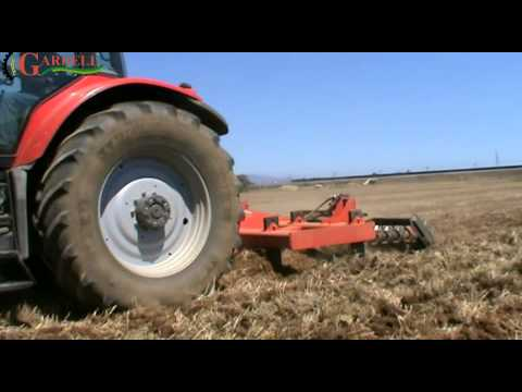 Subsoiler field with roller