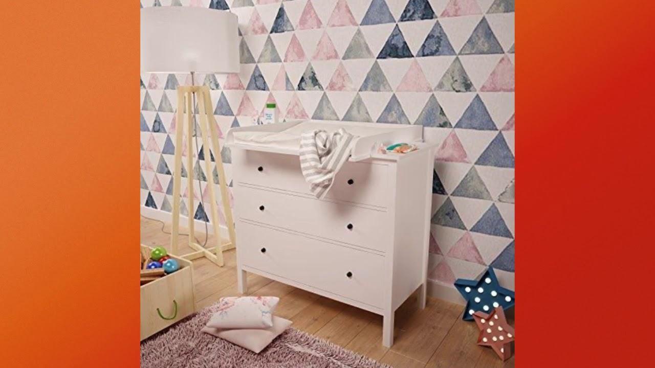 Polini bambini fasciatoio per com/ò MALM IKEA in bianco 1353,9