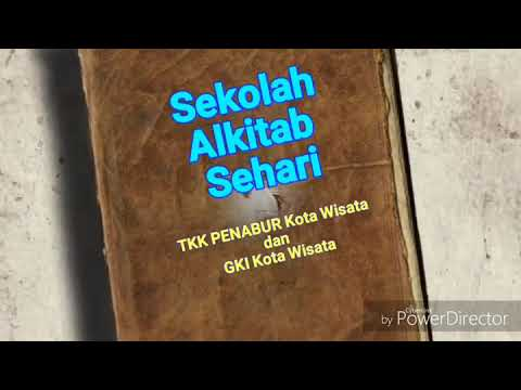 Sekolah Alkitab Sehari Sas Sekolah Kristen Bpk Penabur Jakarta