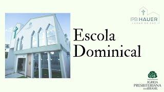04/07/2021 - Culto Matinal -  Rev. Elizeu Eduardo -  #live