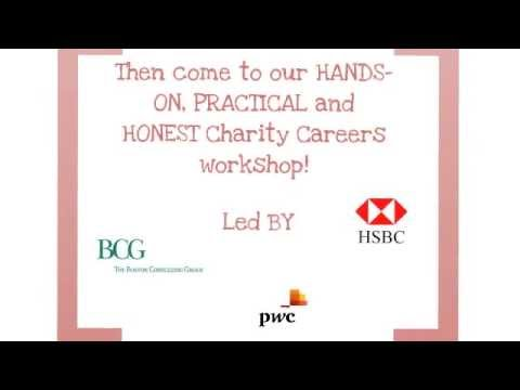 Charity Careers Workshop - Consulting, Accounting and Finance