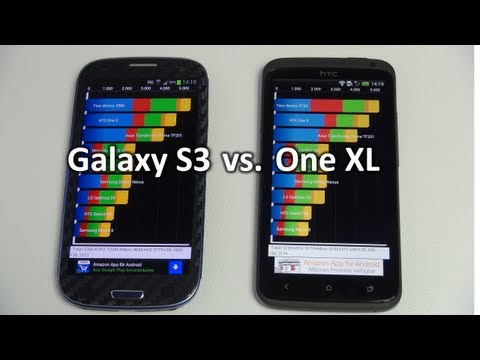 Samsung Galaxy S3 vs HTC One XL: Benchmark | SwagTab