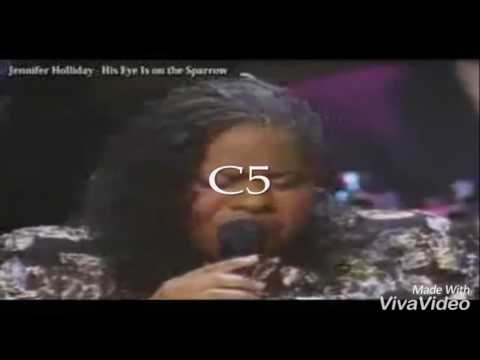 Vocal Battle: Jennifer Holliday Vs Yolanda Adams (C5 - G#5)!