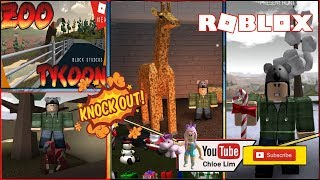 🐻 Zoo Tycoon MASSIVE UPDATES | Hunting animals for my Zoo! ROBLOX