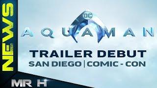 Aquaman Trailer Release Date Confirmed