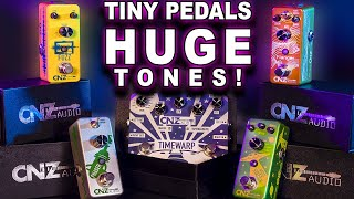 CNZ Audio TINY Guitar Pedals with HUGE Tones! UNBOXING