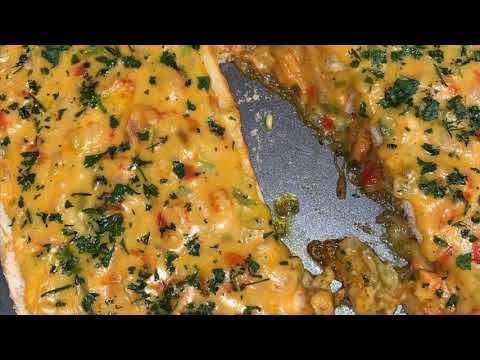 New Orleans Style Crawfish Bread - EASY RECIPE