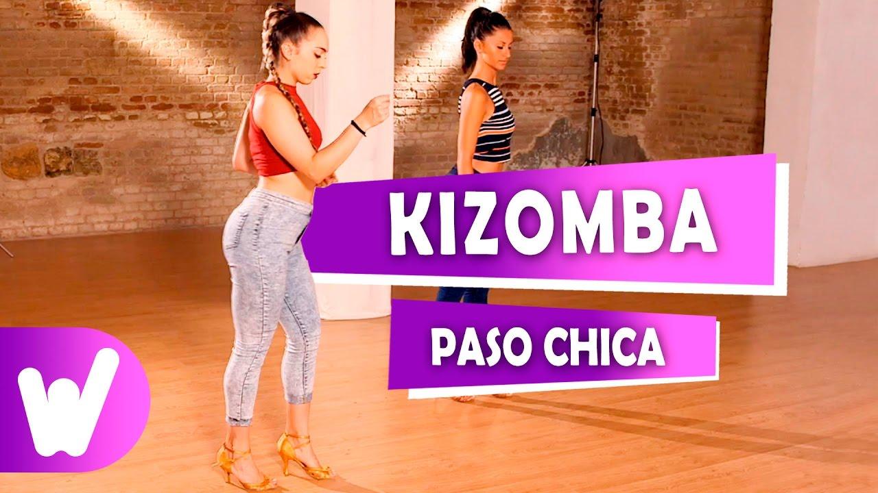 Cómo bailar Kizomba | Paso básico chica