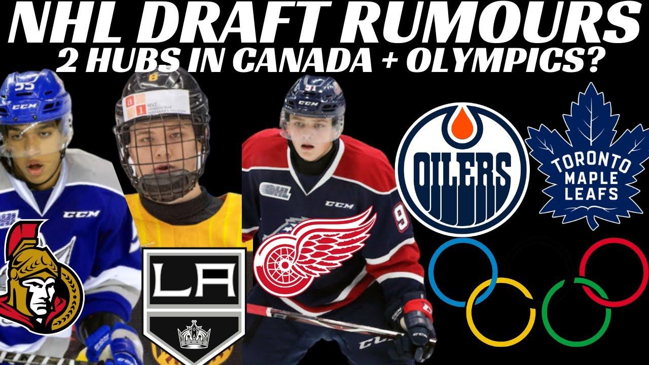 Breaking News: NHL Hub Cities, CBA, Olympics + 2020 NHL Draft Rumours Byfield, Stutzle, Perfetti