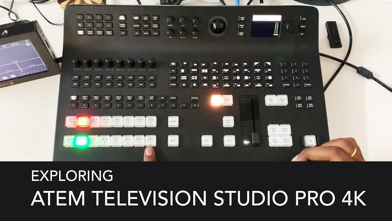 Blackmagic Atem Television Studio Pro 4k Exploring Youtube