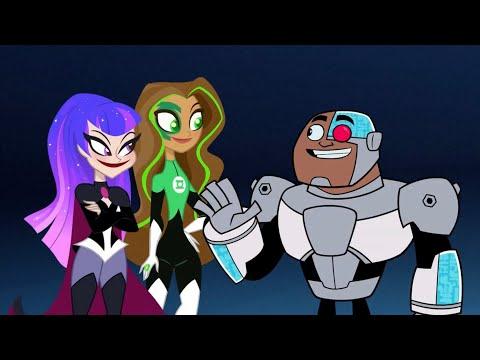 Superhero Feud - The Titans Meet The DC Super Hero Girls