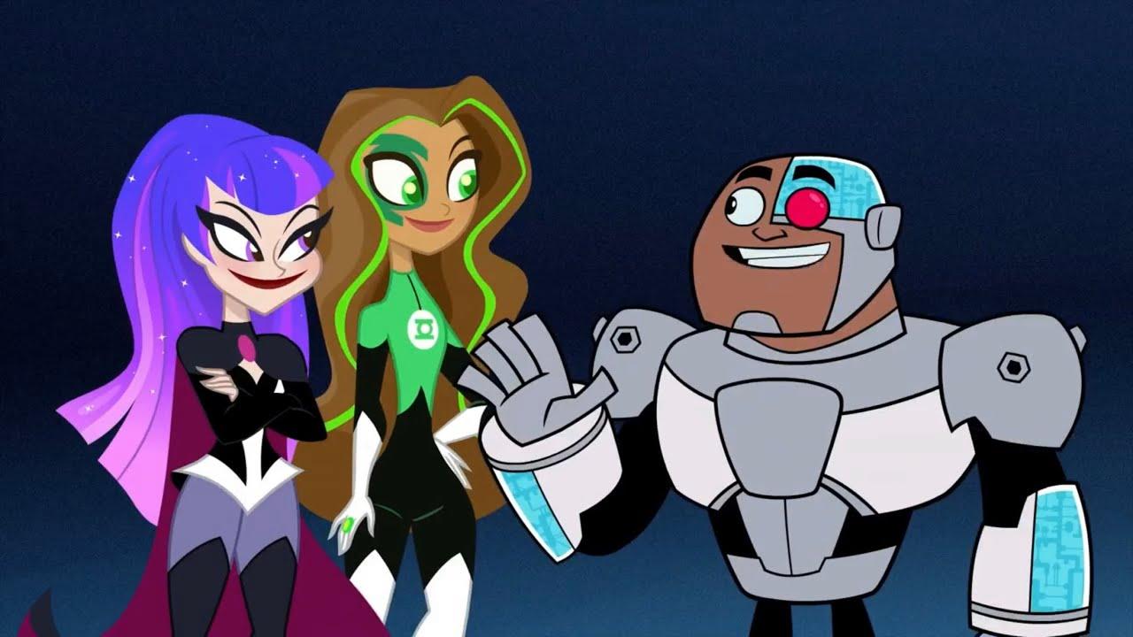 Download Superhero Feud - The Titans Meet The DC Super Hero Girls