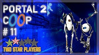 Portal 2 Co-op - Spike Smashy Things [Part 11] Two Star Players
