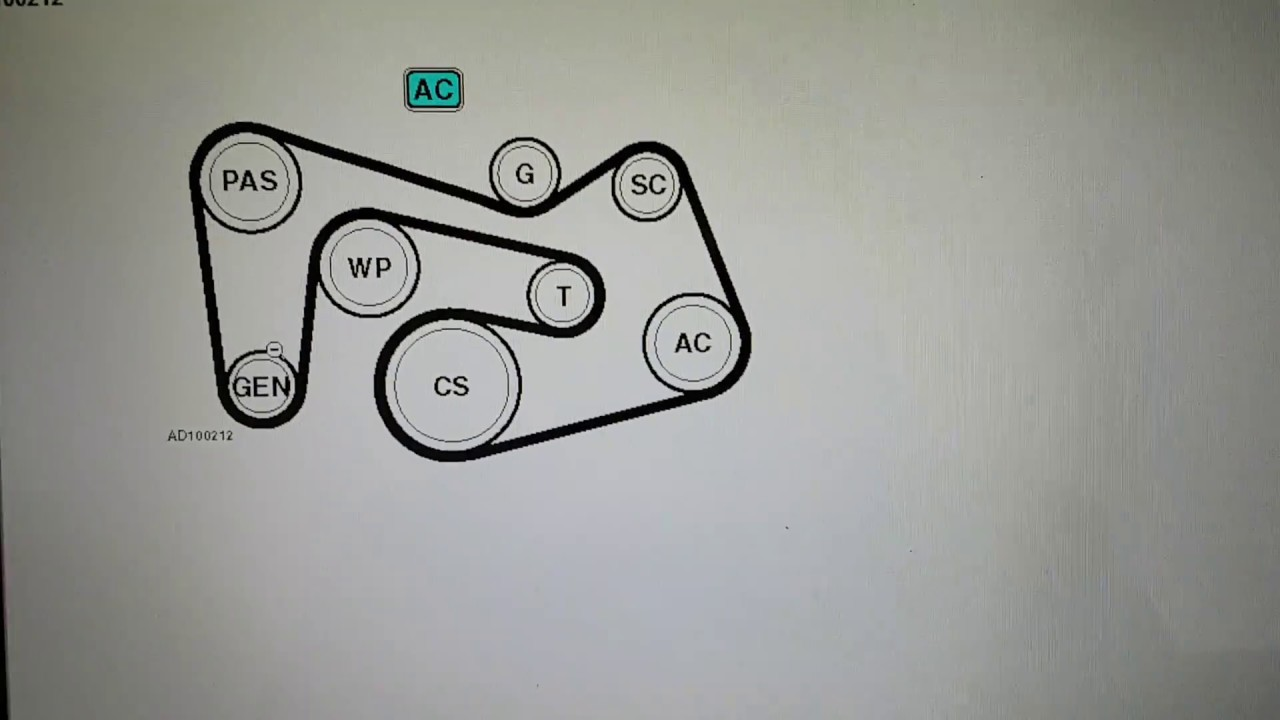 mercedes c180k 2002 to 2007 fan alternator belt diagram with ac c230 kompressor belt diagram [ 1280 x 720 Pixel ]