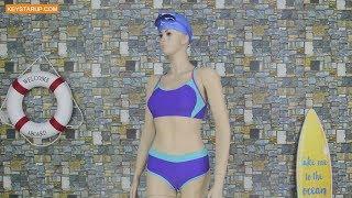 Best sales Tankini two piece swimwear in bulk order STP0001
